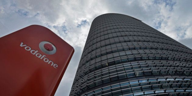 The German headquarters of mobile-phone carrier Vodafone is pictured in Duesseldorf, Germany, Thursday,...