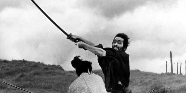 (GERMANY OUT) Japanese films Swordplay of the samurai - scene from the movie 'Harakiri' (Seppuku); director:...