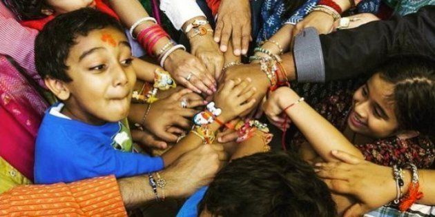 These Rakhi Photos On Instagram Prove That Sibling Love Knows No