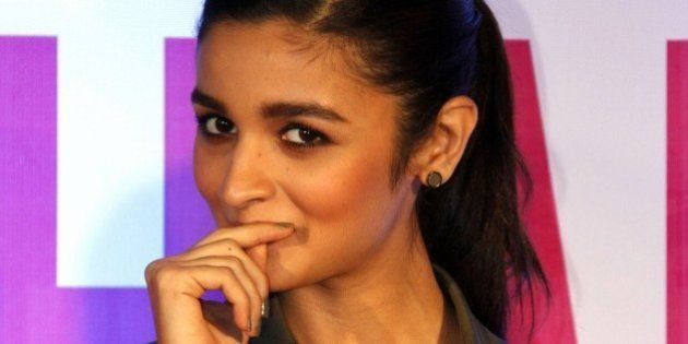 Indian Bollywood actress Alia Bhatt attends the launch of the book Sculpt & Shape: The Pilates Way in...