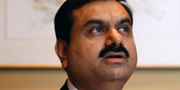 Gautam Adani, chairman of Adani Enterprises Ltd., speaks during an interview in Mumbai, India, on Tuesday,...