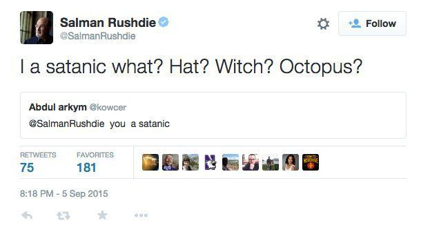 9 Times Salman Rushdie Shut Down His Haters On Twitter With Pure