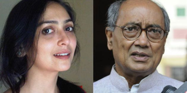 Politician Digvijaya Singh And Journalist Amrita Rai Are Now