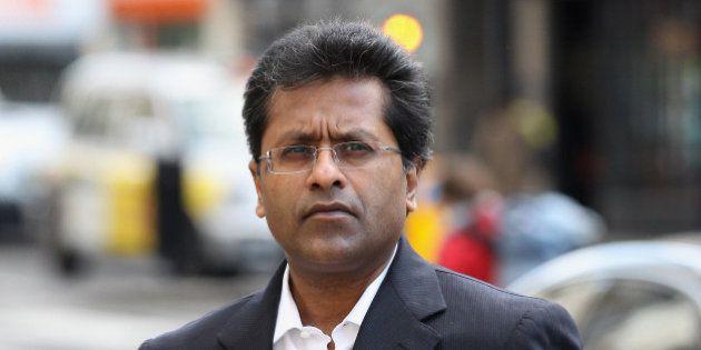 LONDON, ENGLAND - MARCH 05: Lalit Modi, a former Commissioner of Indian Premier League cricket, arrives...