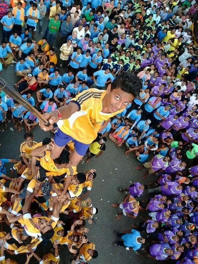 Dear Internet, The Dahi Handi Selfie May Be 'Epic', But Not