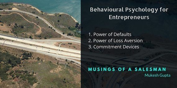 3 Concepts From Behavioural Psychology That Can Boost Your