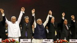 Modi Asks Billionaires If China's Pain Can Be India's