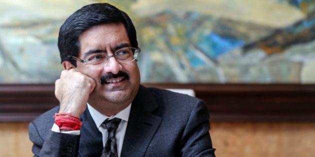 Billionaire Kumar Mangalam Birla, chairman of Aditya Birla Group, listens during an interview in Mumbai,...