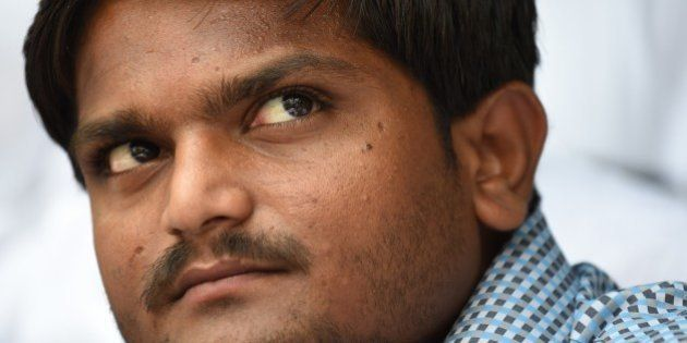 Indian convenor of the 'Patidar Anamat Andolan Samiti', Hardik Patel, who led recent protests in the...