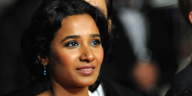 CANNES, FRANCE - MAY 18: Actress Tannishtha Chatterjee attends the 'Monsoon Shootout' Premiere during...