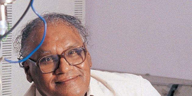 INDIA - DECEMBER 24: CNR Rao, Professor, Jawaharlal Nehru Centre for Advanced Scientific Research, Bangalore,...