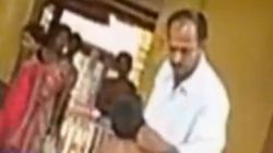 VIDEO: Mangaluru Teacher Brutally Thrashes 10-Year-Old Student, Heaps Caste