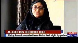 Indian Woman With Alleged ISIS Link Arrested After Deportation By