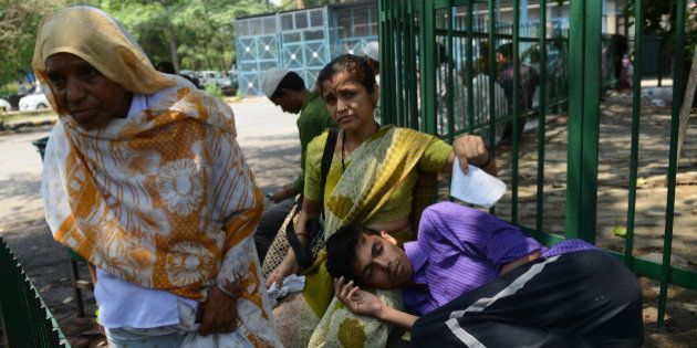 NEW DELHI,INDIA JUNE 22: Over 2,000 Resident Doctors went on an indefinite strike on Monday causing severe...