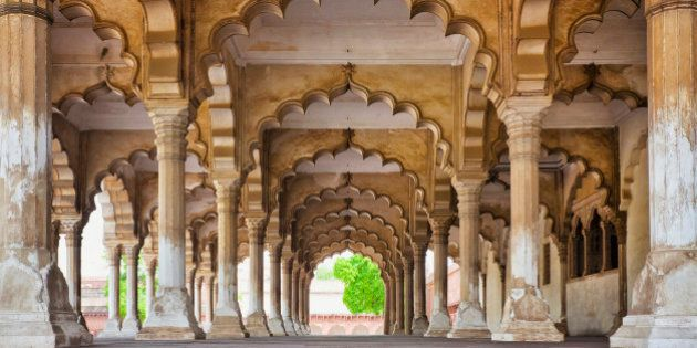 India, Uttar Pradesh, Agra, Agra Fort, Hall of Public