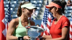 Sania Mirza, Martina Hingis Win The US Open Without Dropping A Single