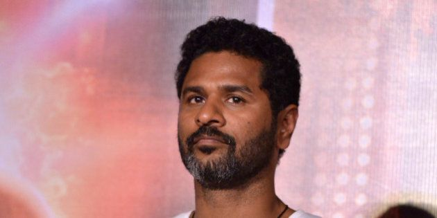 MUMBAI, INDIA OCTOBER 22: Prabhu Deva at the trailer launch of the movie Action Jackson in Mumbai.(Photo...