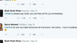 These Two Indian Celebs Planning A Meet On Twitter Is Just Like How We Would Do