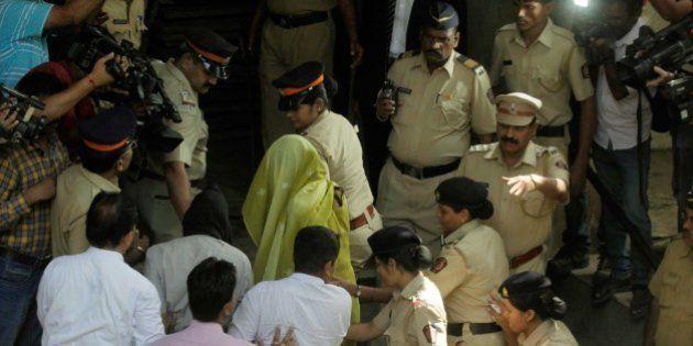 MUMBAI, INDIA - SEPTEMBER 5: Indrani Mukerjea, former CEO of INX Media, and her former driver Shyamvar...