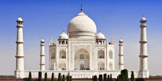Taj Mahal, Agra, Uttar Pradesh,