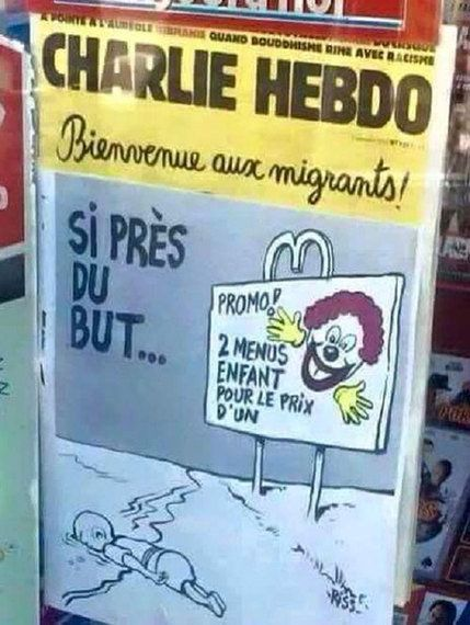 Charlie Hebdo And Making A Caricature Of