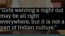 Girls Night Out Is Against Indian Culture: Union Culture