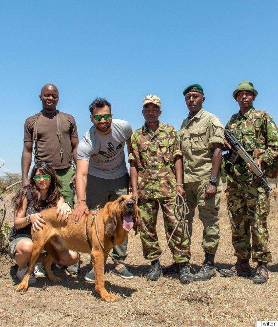 Cricketer Rohit Sharma Is In Kenya, Saving Wild
