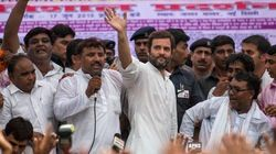 Rahul Gandhi Mocks 'Make In India' Project, Takes A Dig At PM Modi On Land