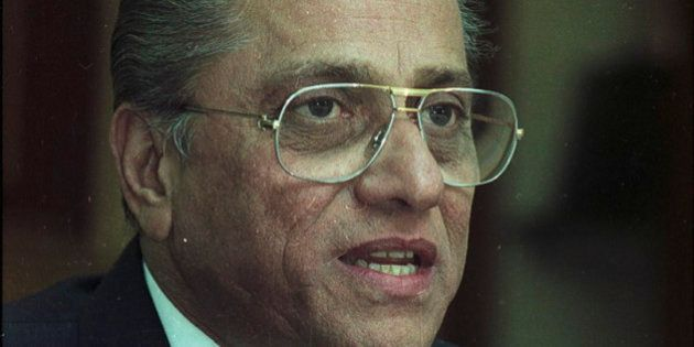 KOLKATA, INDIA - FEBRUARY 19: (File photo) Jagmohan Dalmiya at BCCI special meeting on February 19, 2004...