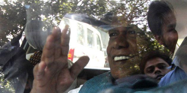 NEW DELHI, INDIA - SEPTEMBER 9: Former Chief Minister of Bihar and Hindustani Awam Morcha Jitan Ram Manjhi...