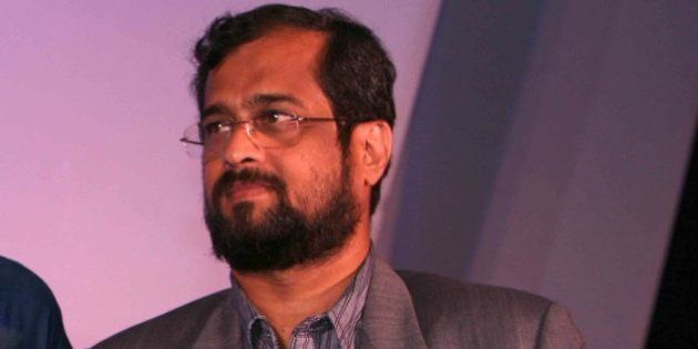 NEW DELHI, INDIA - AUGUST 27 : Nikhil Wagle , who was named News Television Editor-In-Chief of the year...