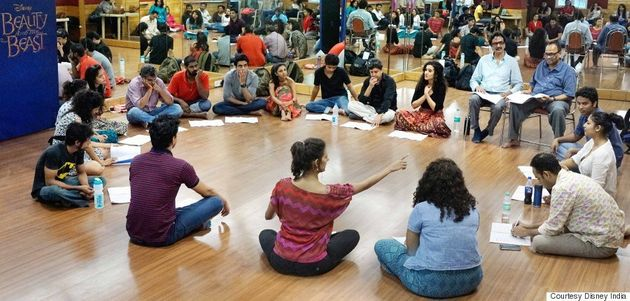 Inside India's First Legit Broadway Musical, 'Beauty And The