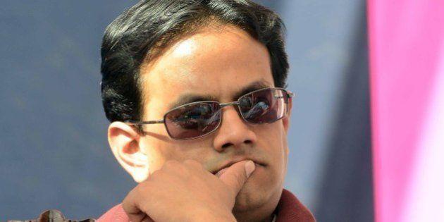 JAIPUR, INDIA – JANUARY 27: Samanth Subramanian at the Jaipur Literature Festival on 27th January,...