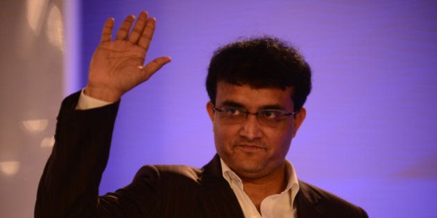 NEW DELHI, INDIA NOVEMBER 21: Former Indian cricketer Sourav Ganguly at Hindustan Times Leadership Summit...
