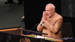 Full Text Of Narendra Modi's Speech At The UN Sustainable Development