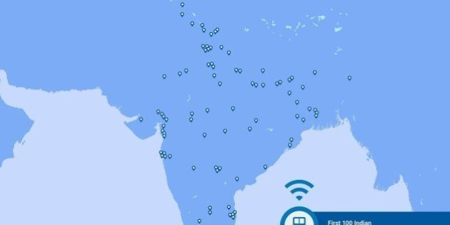 Here's A Map Of The First 100 Indian Cities That Will Get Free Wi-Fi Enabled Railway Stations Courtesy