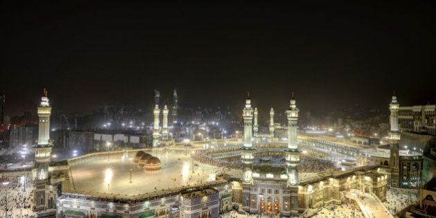 Islamic Holy Place in Mecca, Saudi