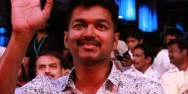 IT Raids At Houses Of 'Puli' Stars Vijay And