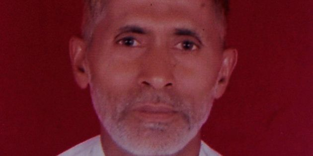 GREATER NOIDA, INDIA - SEPTEMBER 29: File photo of 50-year-old man Mohammad Akhlaq, he was killed by...