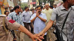 Delhi CM Kejriwal Stopped From Entering Fractious Dadri