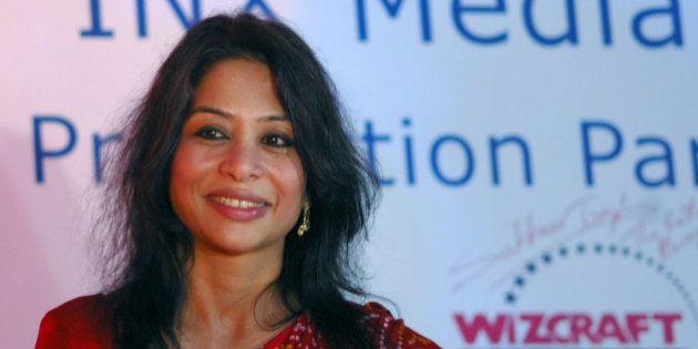 MUMBAI, INDIA - JULY 25: Indrani Mukerjea, Founder & CEO, INX Media Pvt. Ltd. during a press conference...