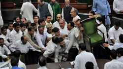 Protests Continue In J&K Assembly For Second