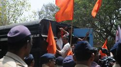 Over 500 Shiv Sena Activists Booked On Charges Of Inciting Communal Violence In