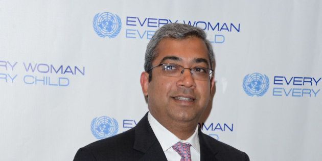 NEW YORK, NY - SEPTEMBER 25: Ashok Vemuri attends United Nations Every Woman Every Child Dinner 2012...