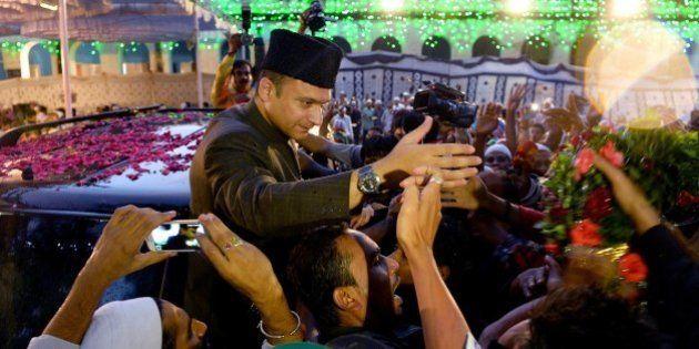Indian Muslim leader of All India Majlis-e-Ittihad al-Muslimin and member of the Legislative Assembly...