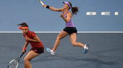 Sania Mirza, Martina Hingis Advance In China Open Women's Doubles