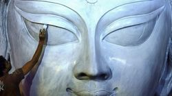 Puja Committee In Kolkata Claims To Be Constructing Tallest Durga Idol In The