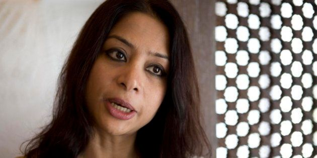 MUMBAI, INDIA - APRIL 18: Indrani Mukerjea, Founder & CEO, INX Media Pvt. Ltd. and Chairperson, INX News Pvt. Ltd. poses for a profile shoot on April 18, 2008 in Mumbai, India. (Photo by Madhu Kapparath/Mint via Getty Images)