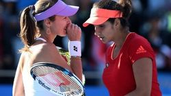 Sania Mirza, Martina Hingis Storm Into China Open Women's Doubles