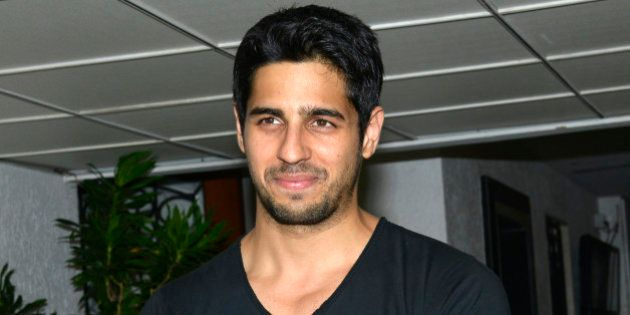 MUMBAI, INDIA JUNE 29: Siddharth Malhotra at the success party thrown by him for his movie Ek Villan...